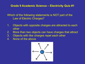 electricity and magnetism practice test pdf