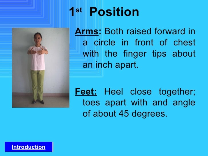 fundamental position of arms and feet in folk dance pdf
