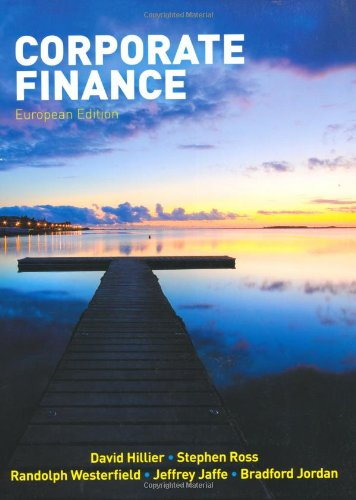 essentials of corporate finance by ross westerfield and jordan pdf