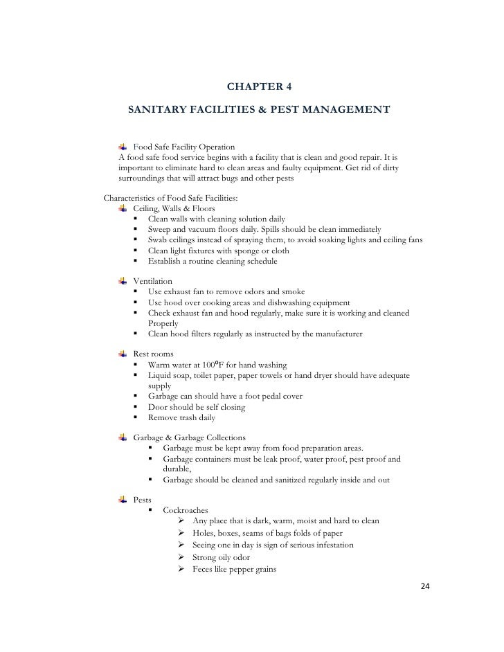 food safety implementatio thesis pdf