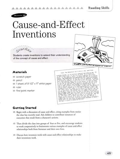 examples of cause and effect pdf
