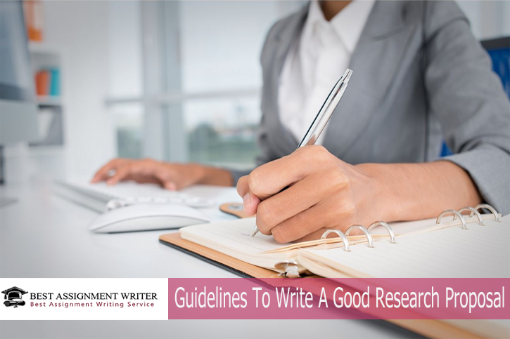guidelines for writing research proposals and dissertations