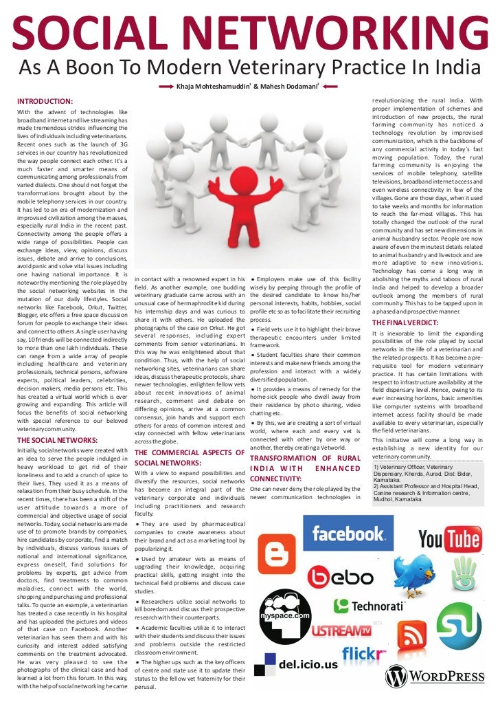 effects of social media on youth pdf