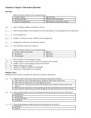 high school chemistry practice test with answers pdf