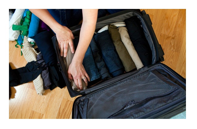 guide to packing your luggage bag