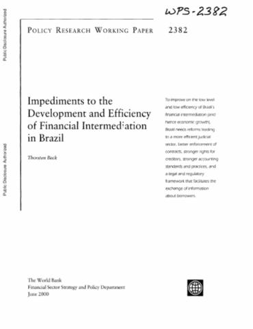 financial intermediation and endogenous growth pdf