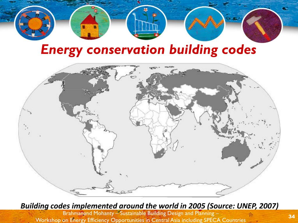 guidelines for energy conserving design of buildings was to served