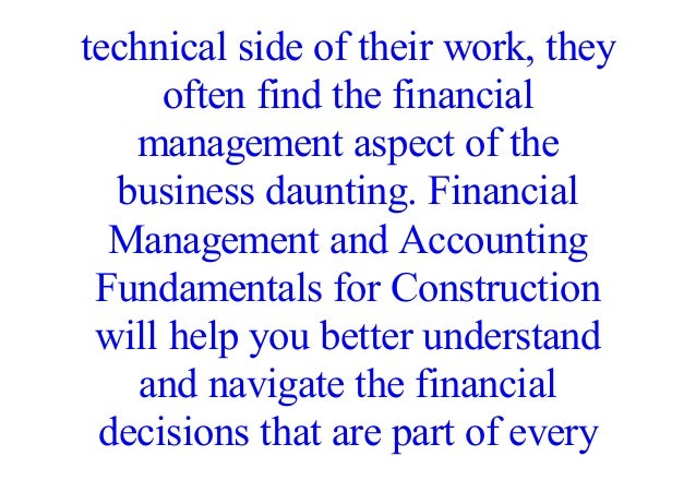 fundamentals of accounting business and management pdf