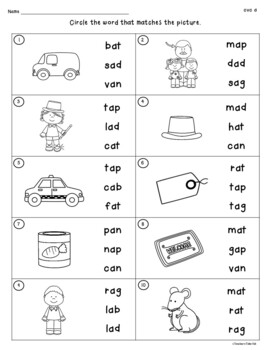 cvc reading comprehension worksheets pdf