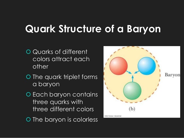 differentiate between baryons and mesons in terms of baryon
