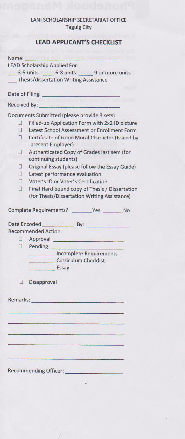 dost application form for graduate students