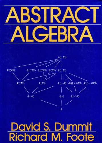 dummit and foote abstract algebra pdf