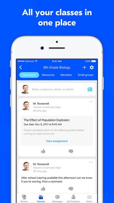 edmodo in the classroom pdf