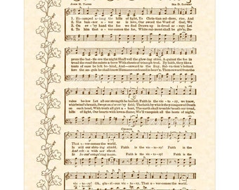 faith is the victory sheet music pdf
