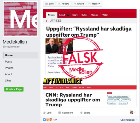 fake news is purposely misleads people pdf
