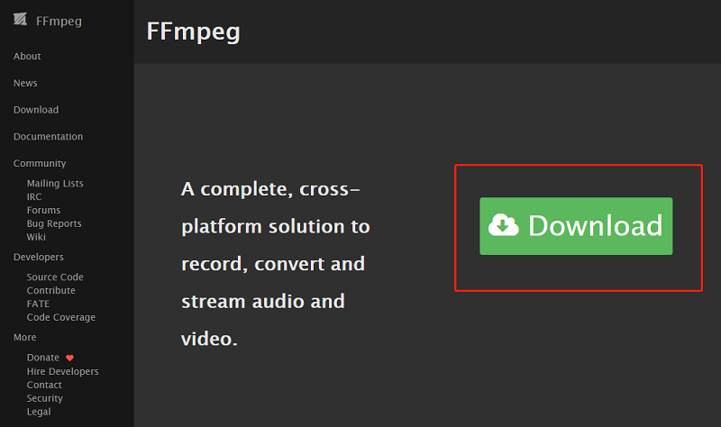 ffmpeg mov to mp4 manual