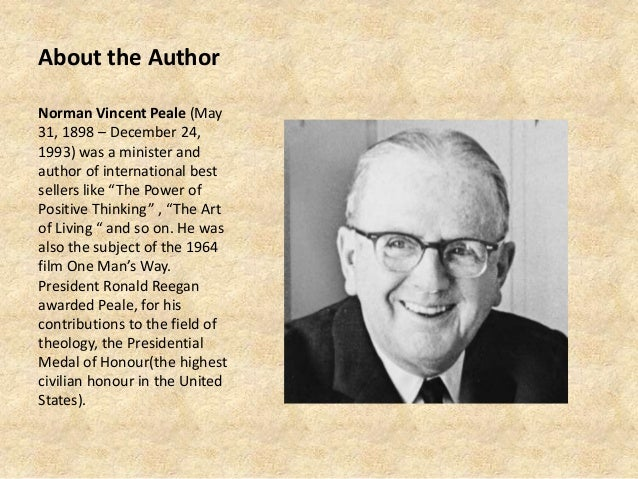 free pdf enthusiasm makes the difference by norman vincent peale