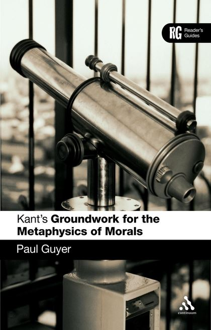 groundwork on the metaphysics of morals pdf